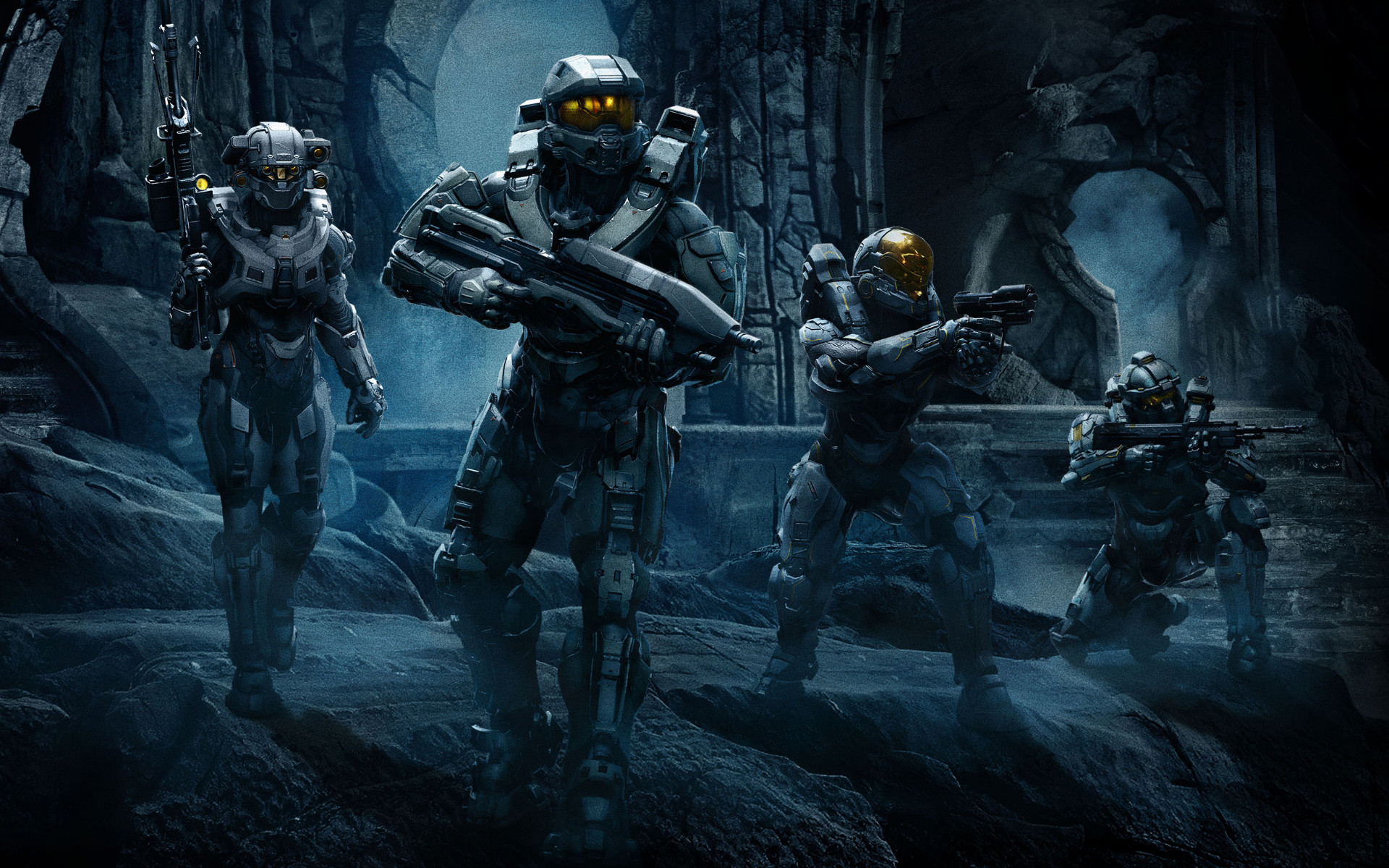 Good News Gaming: Halo Guardians Campaign Cinematic Introduces Blue Team