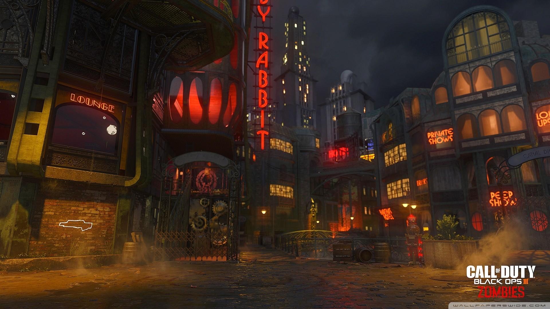 Call of Duty Zombies ZETSUBOU NO SHIMA HD desktop wallpaper