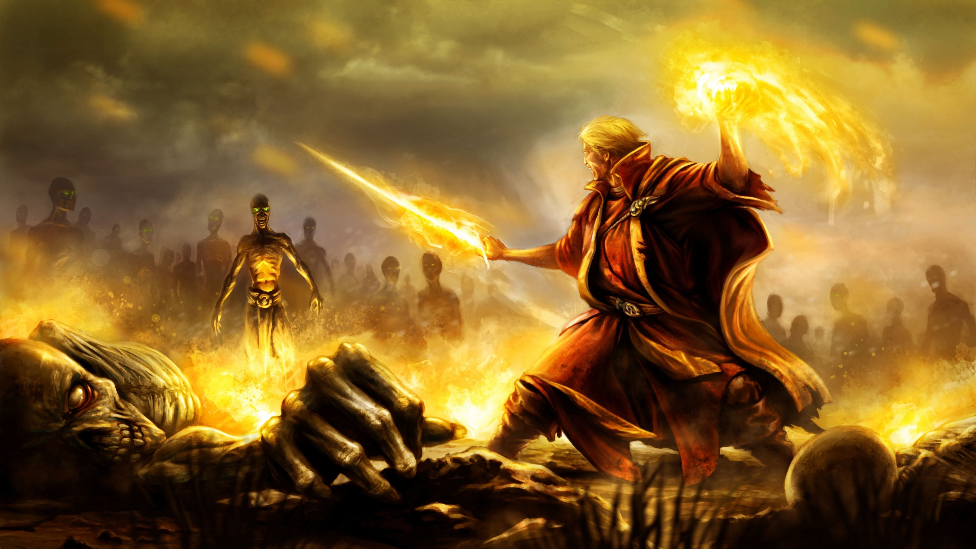 Battle Mage Art – Ultra HD Wallpaper. ImgPrix.com – High Definition  Wallpapers and