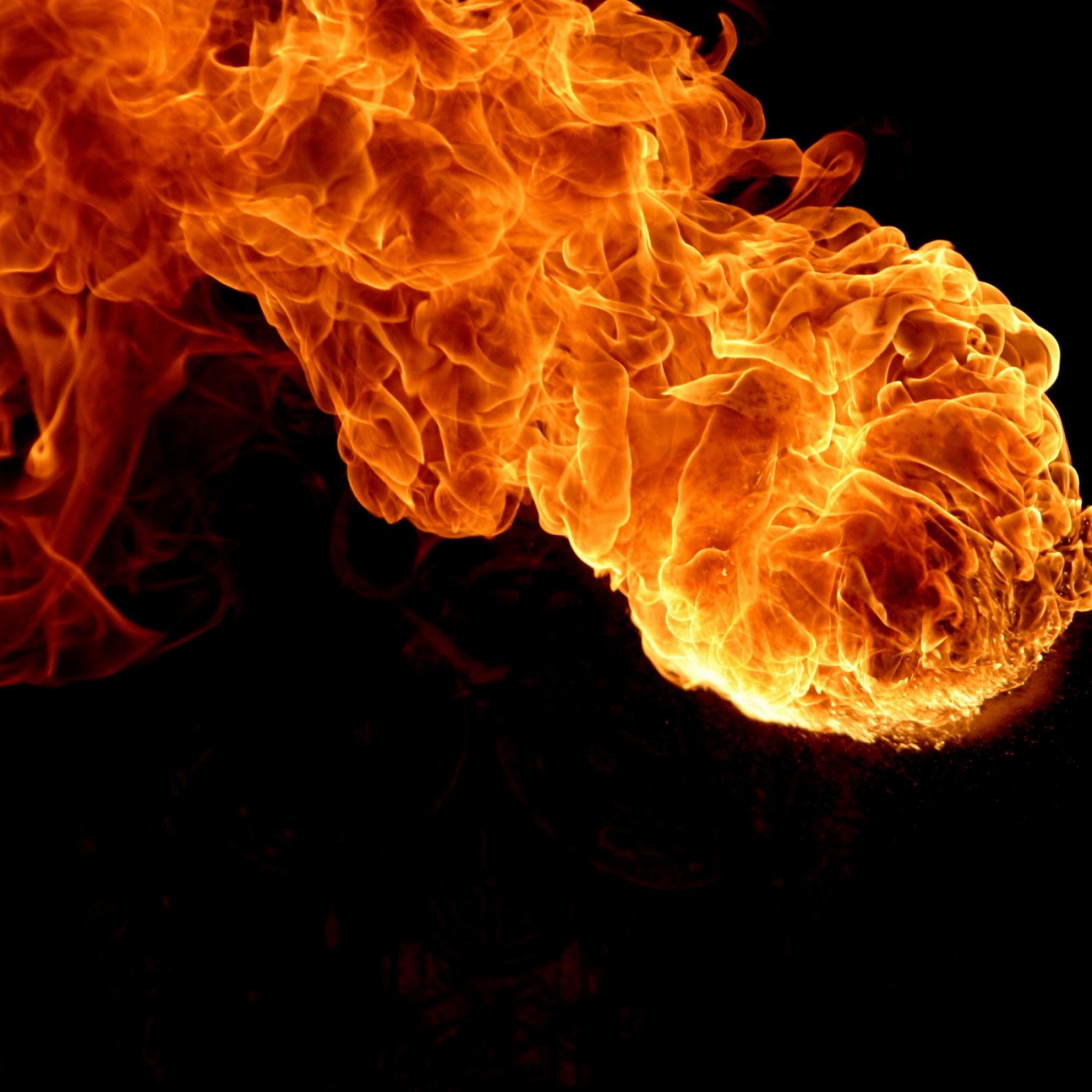 Fire Art iPad Wallpaper 12