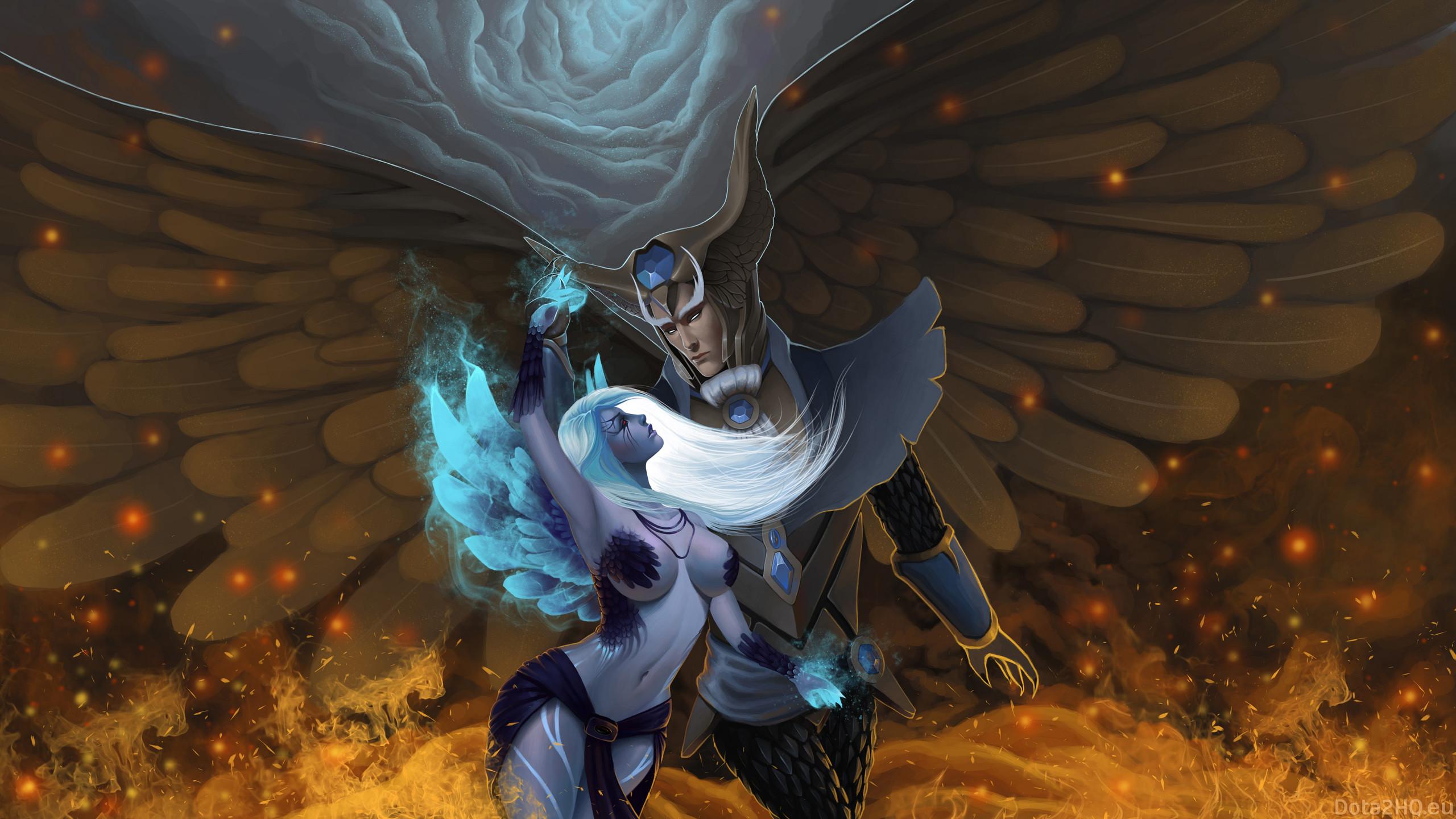 Vengeful Spirit X Skywrath Mage ~ Inside the Fire
