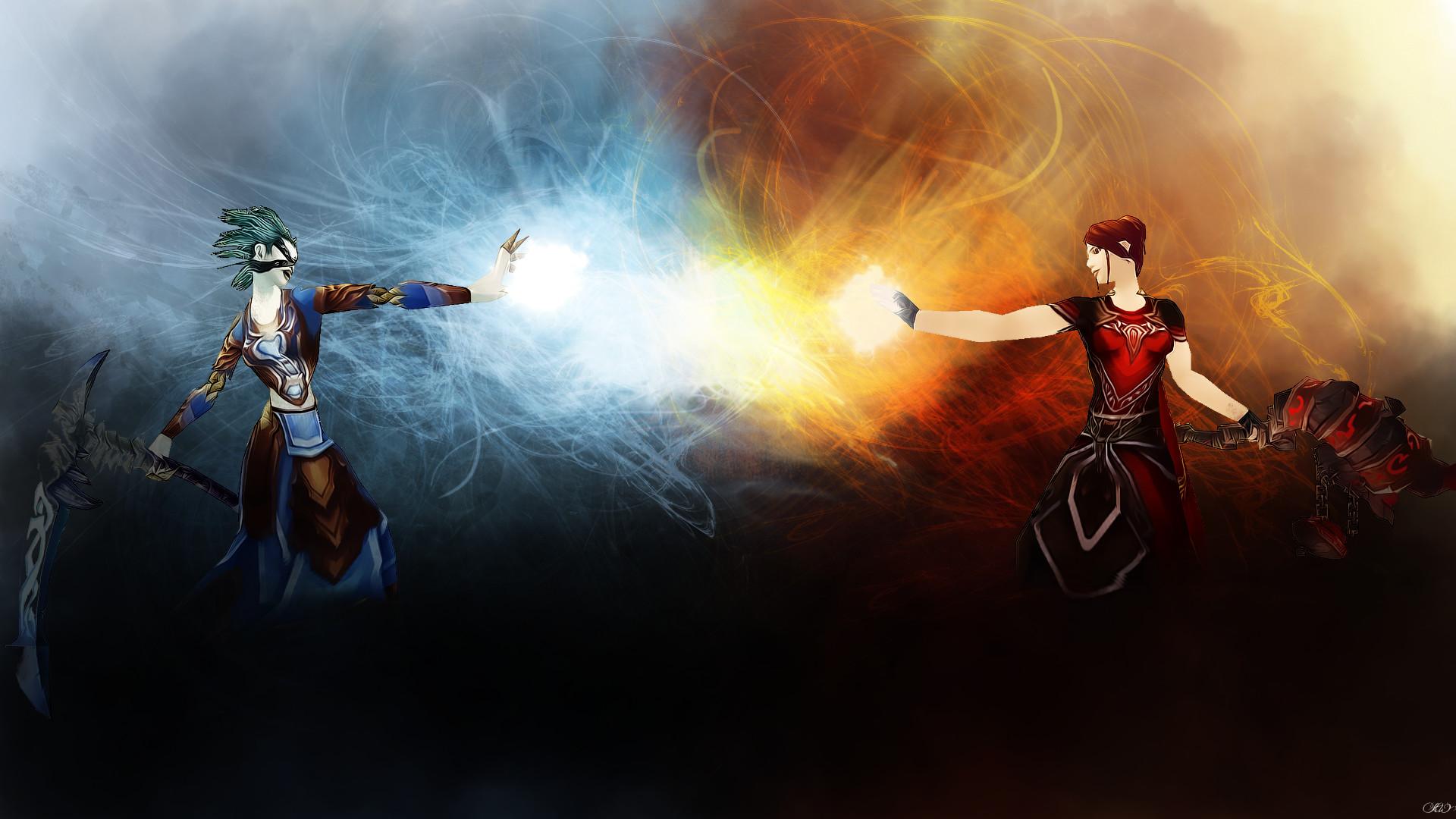 Frost VS Fire by Jaceyy Frost VS Fire by Jaceyy