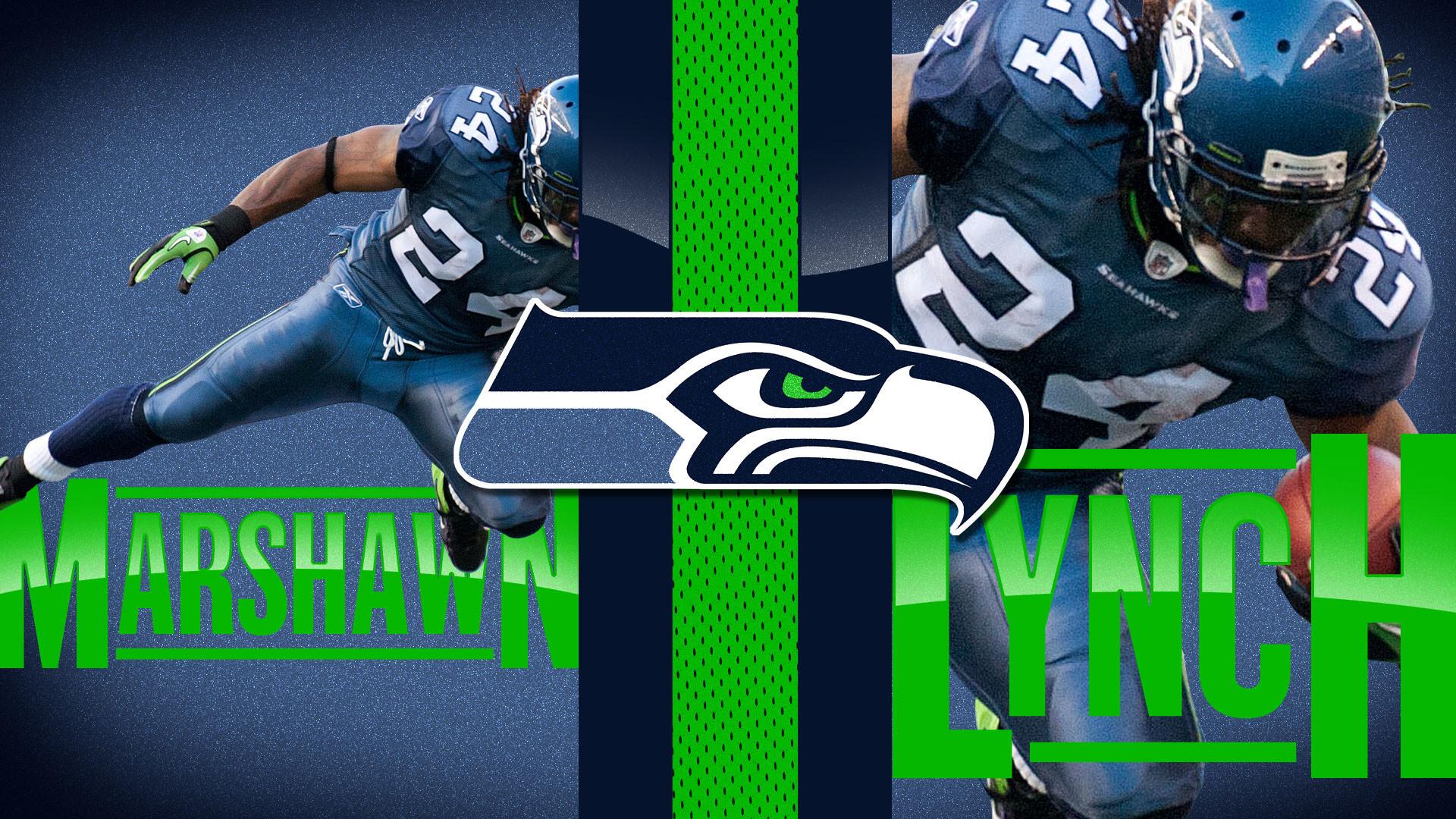 Seattle Seahawks Wallpaper Marshawn Lynch