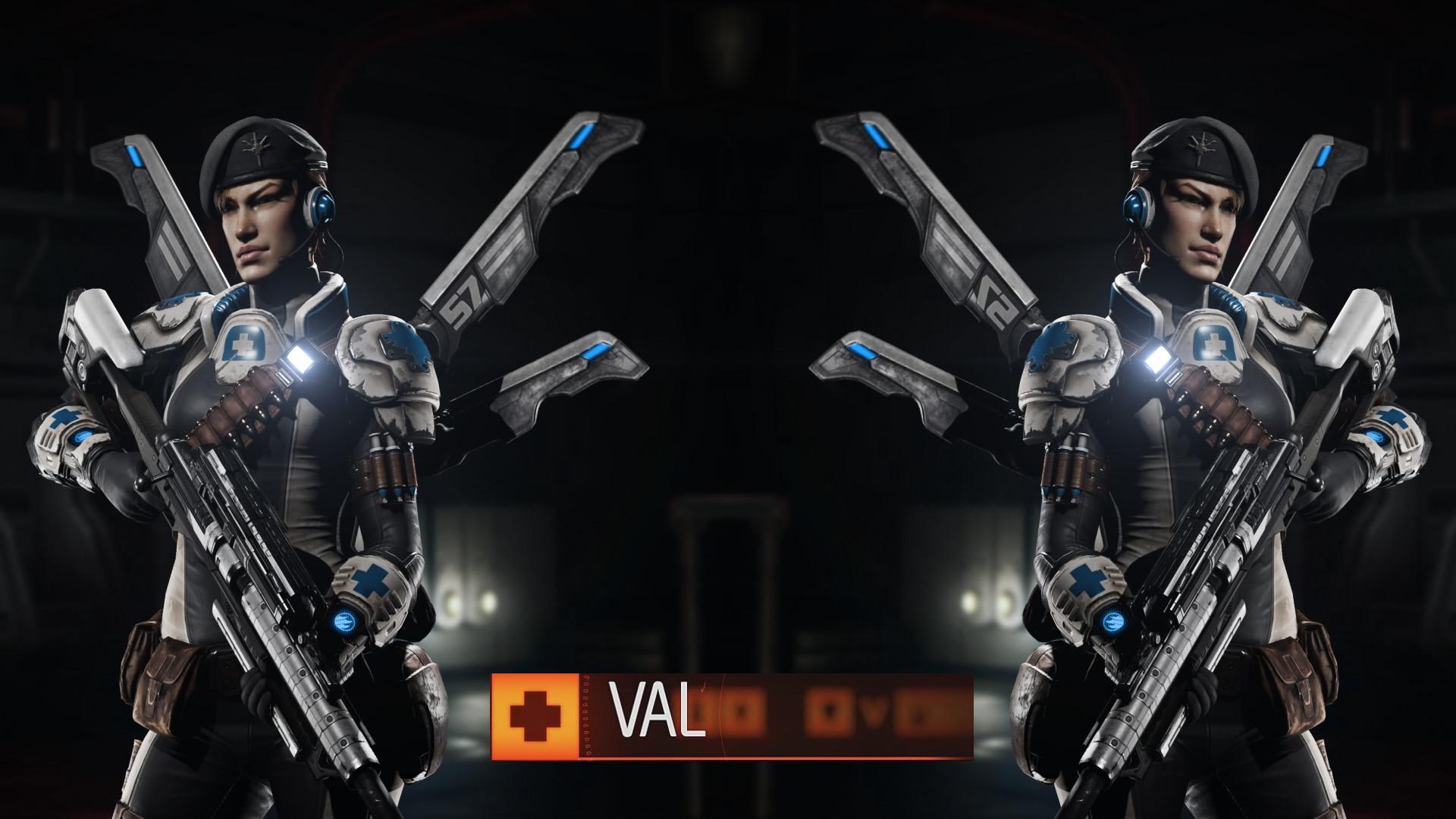 Evolve Val Wallpaper 1080p by IDarkStalker Evolve Val Wallpaper 1080p by  IDarkStalker