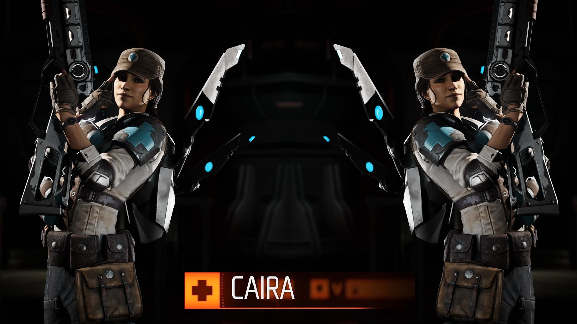 Evolve Caira Wallpaper 1080p by IDarkStalker Evolve Caira Wallpaper 1080p  by IDarkStalker