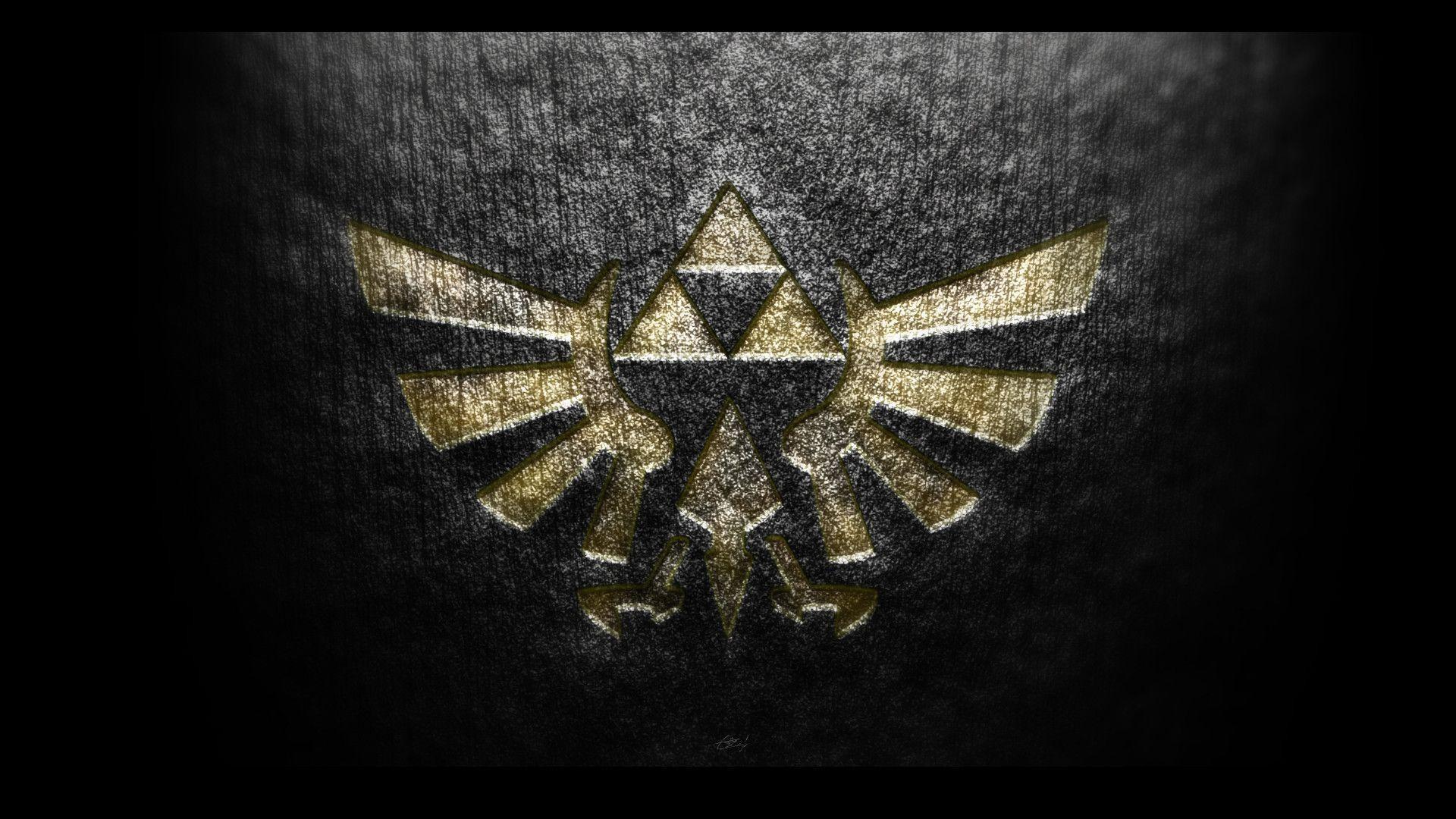 Wallpapers For > Zelda Triforce Wallpaper