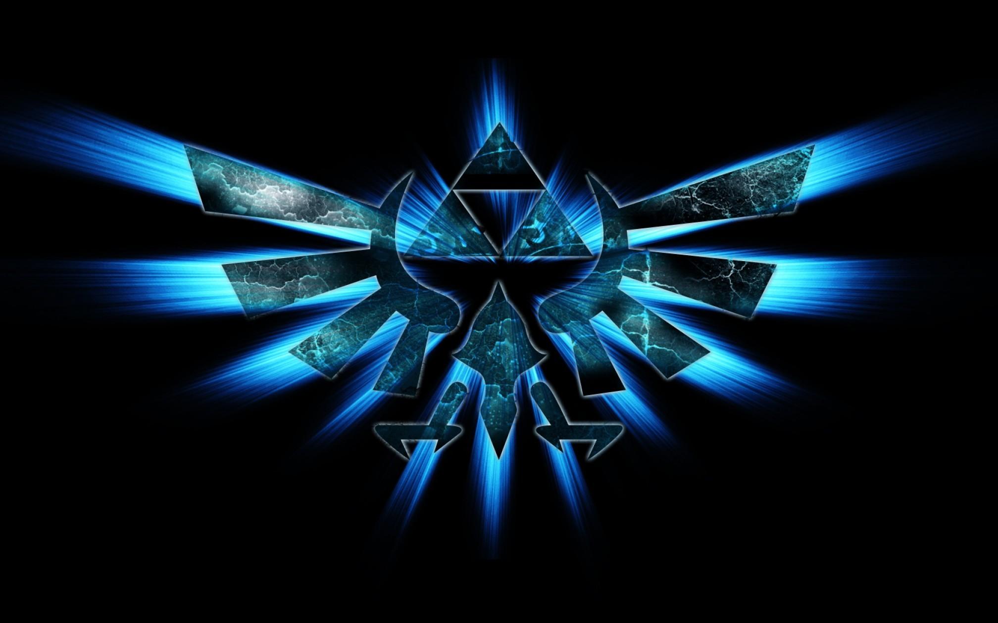 Hd Triforce Wallpaper The Legend Of Zelda Graphic   Vectory