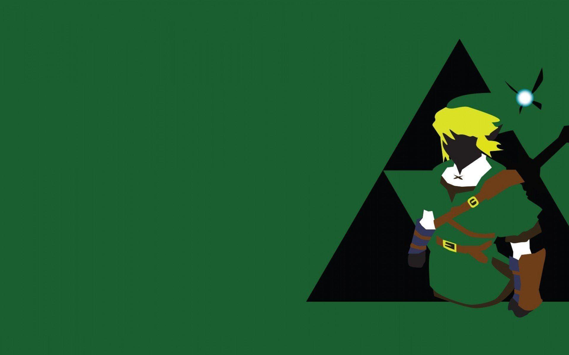 Legend Of Zelda Link Triforce Wallpaper » WallDevil – Best free HD .