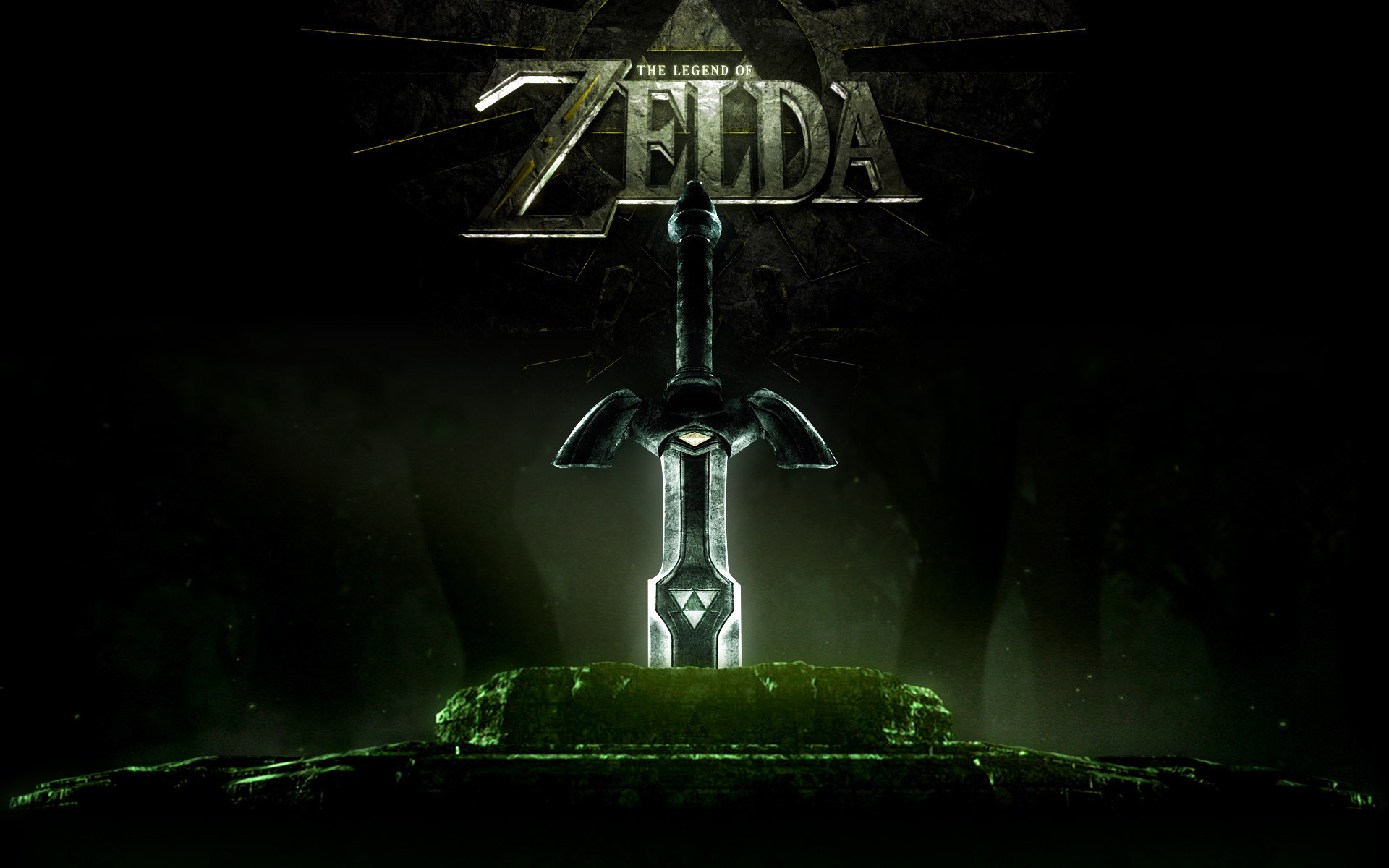 Legend Of Zelda Triforce Wallpaper