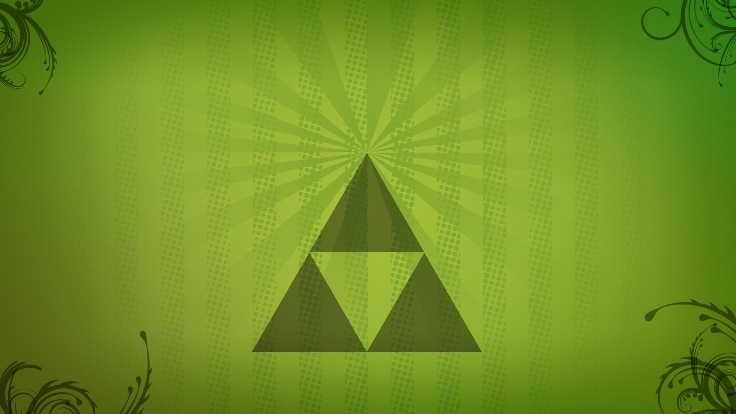 … Zelda Triforce wallpaper – minimalistic by H-Thomson