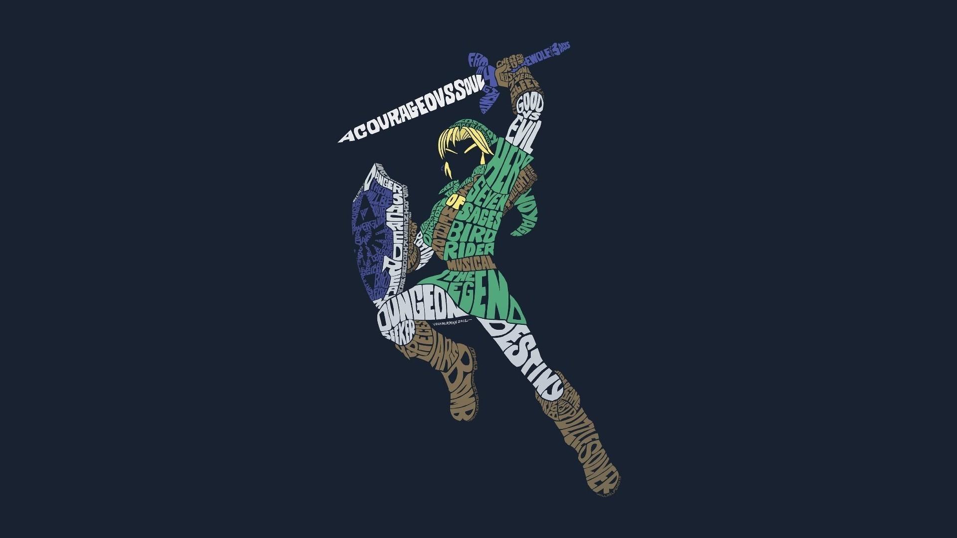 The Legend Of Zelda 1360×768 Resolution