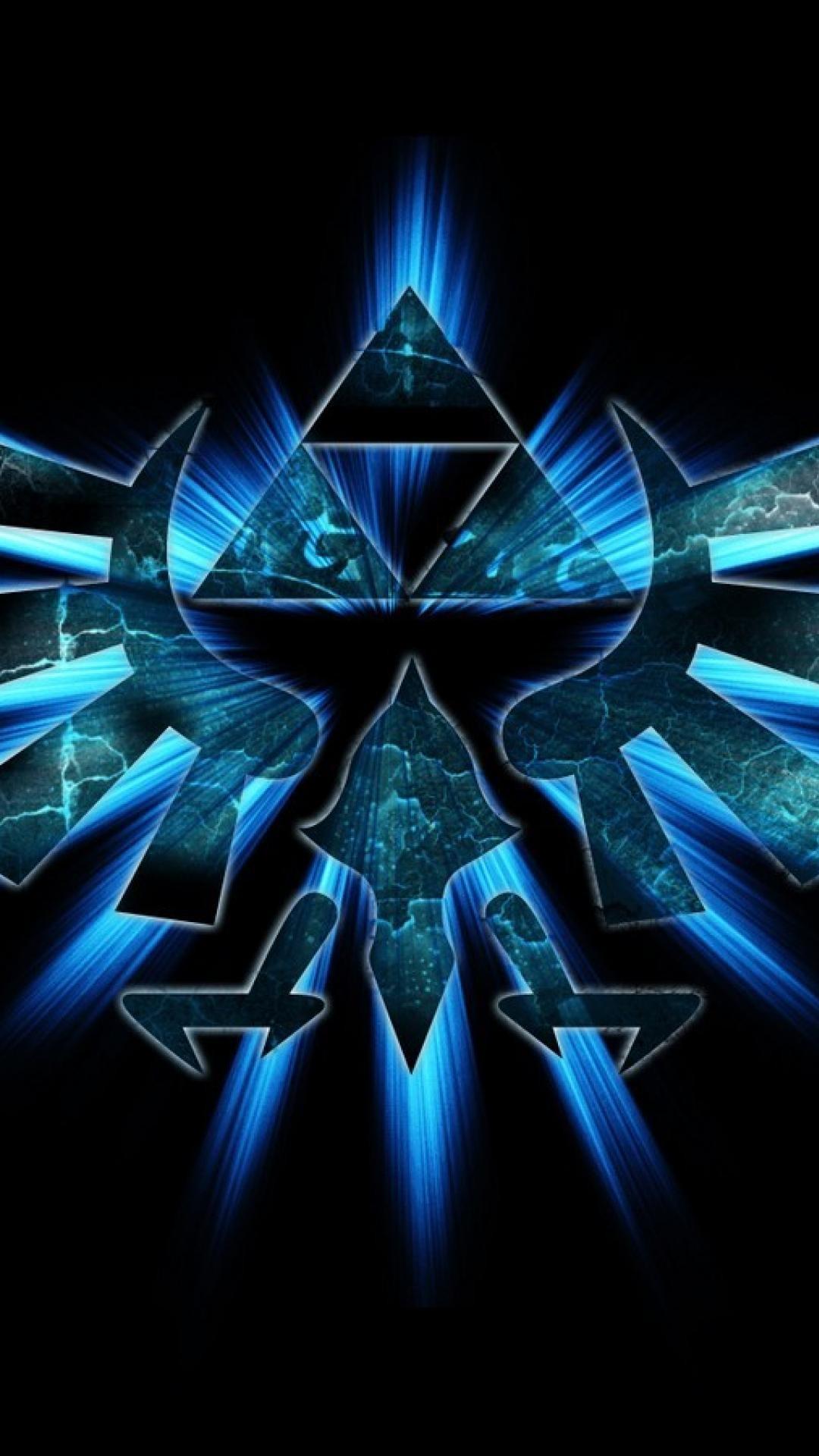 Triforce the legend of zelda wallpaper   (64142)