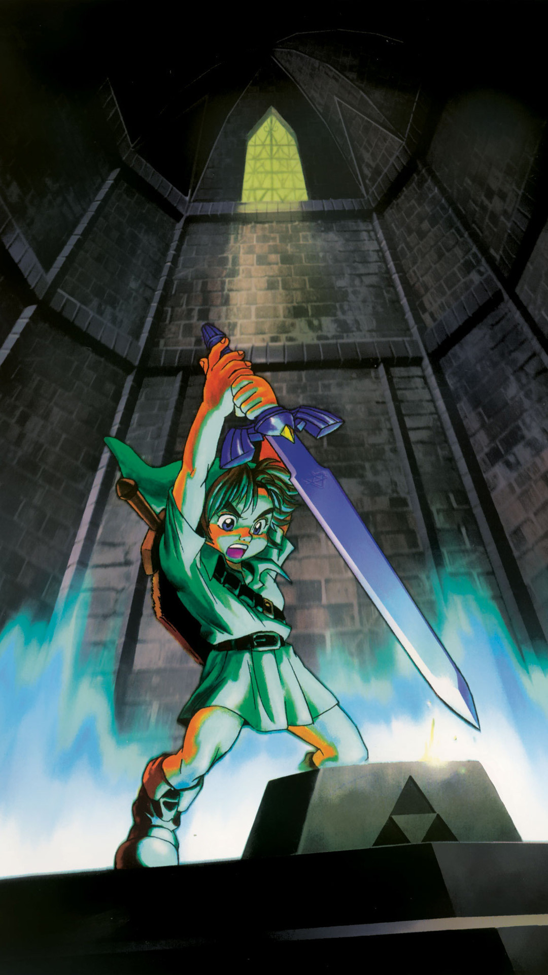 The legend of zelda ocarina of time mobile phone wallpapers in hd