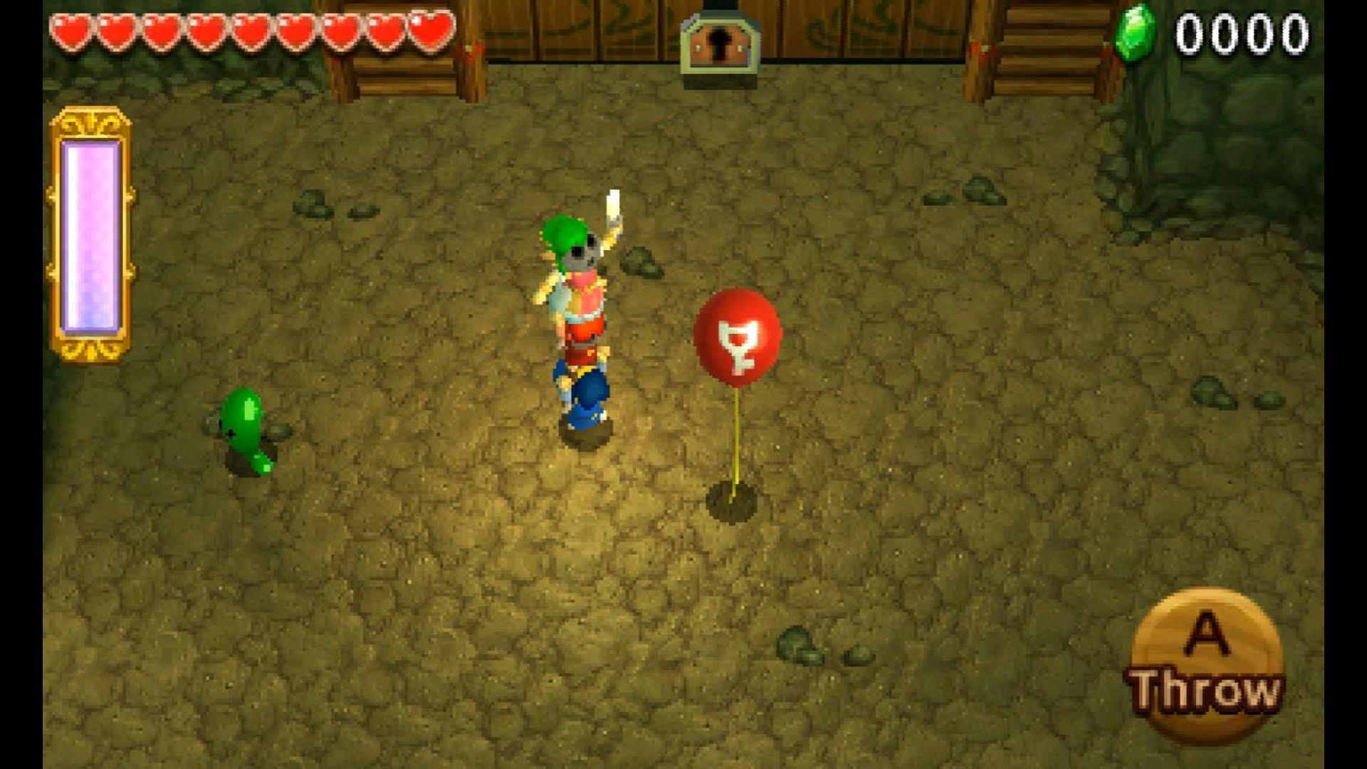 The Legend of Zelda: Triforce Heroes Solo Gameplay – Buzz Blob Cave Bomb  Challenge