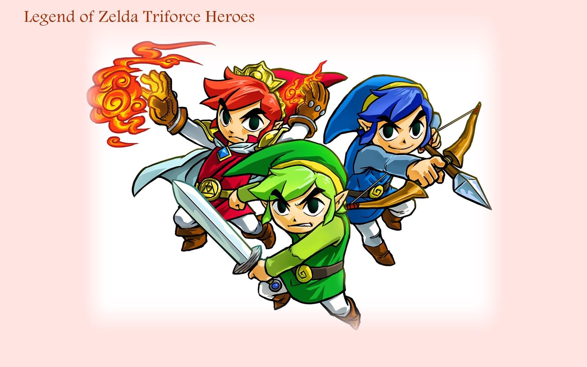 … Legend Of Zelda Triforce Heroes Game 2015 HD Wallpaper #04293