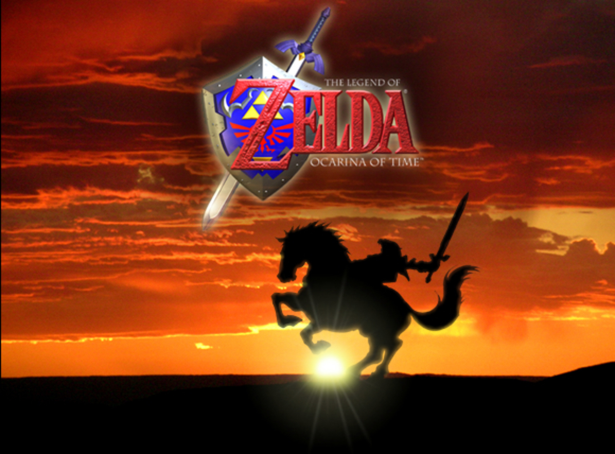 HD Quality The Legend of Zelda Ocarina of Time Wallpaper 6 Game .