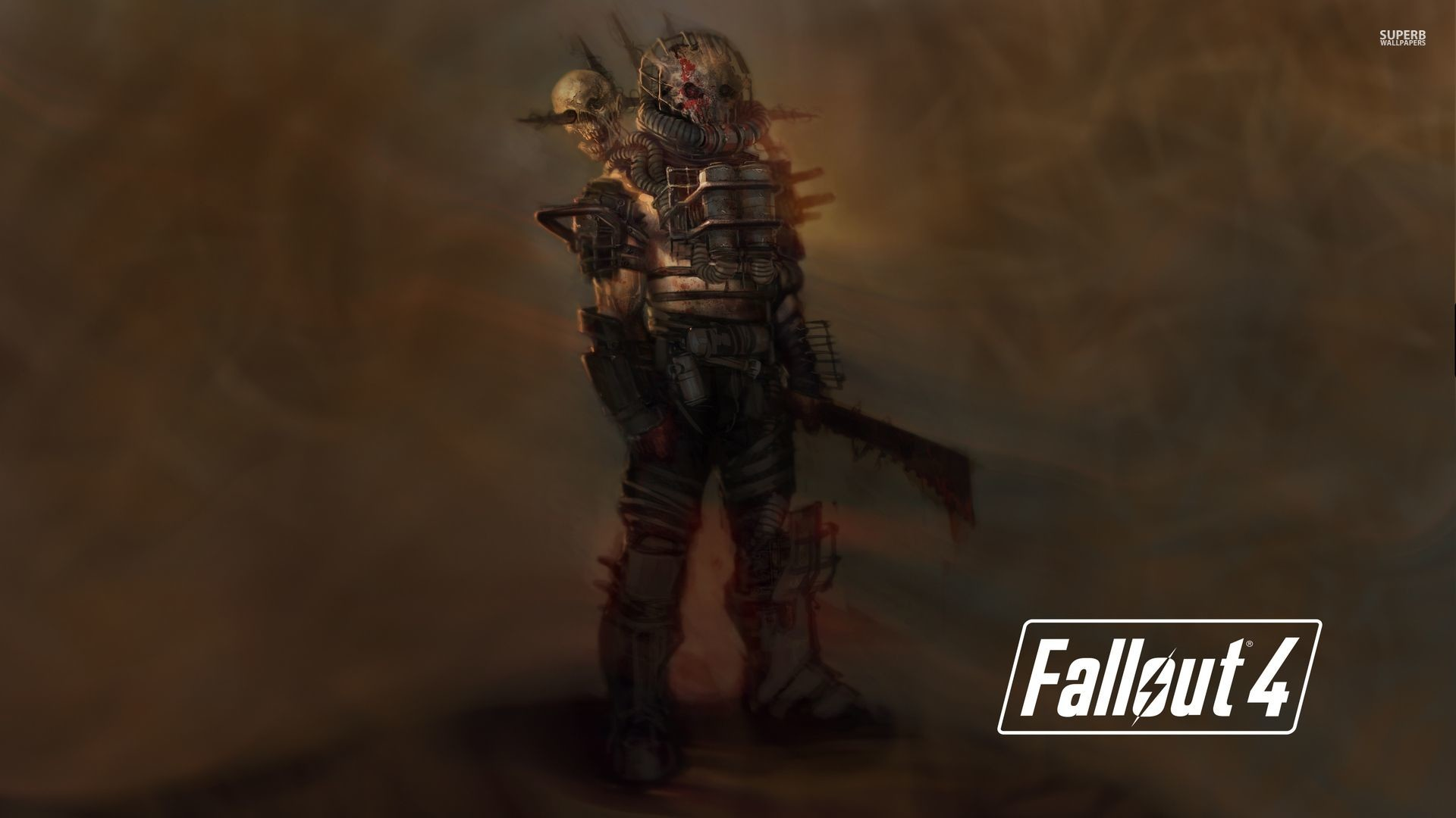 Fallout 4 raider holding a machete wallpaper – Game wallpapers .