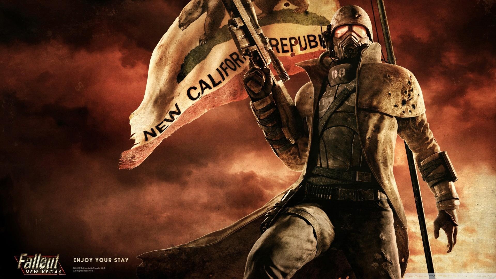 Fallout New Vegas HD Обои Фоны Wallpaper