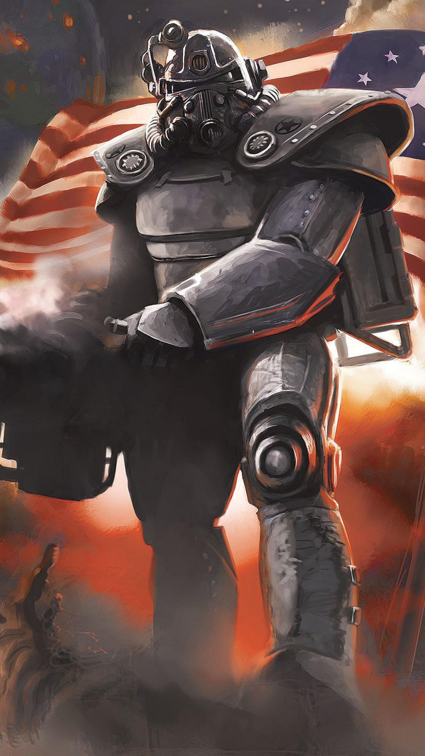 Preview wallpaper fallout 4, bethesda softworks, bethesda game studios  1440×2560