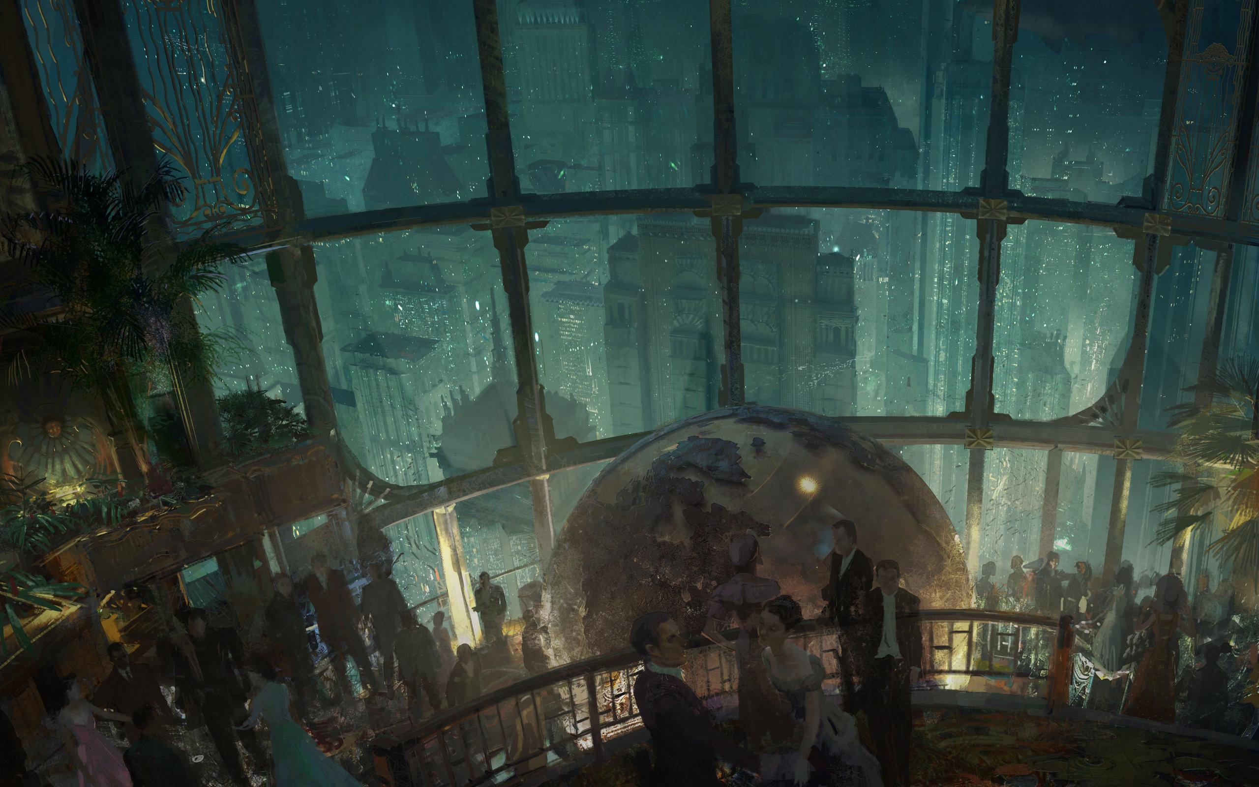 DreamScene [Live Wallpaper Bioshock Rapture p YouTube 2560×1600
