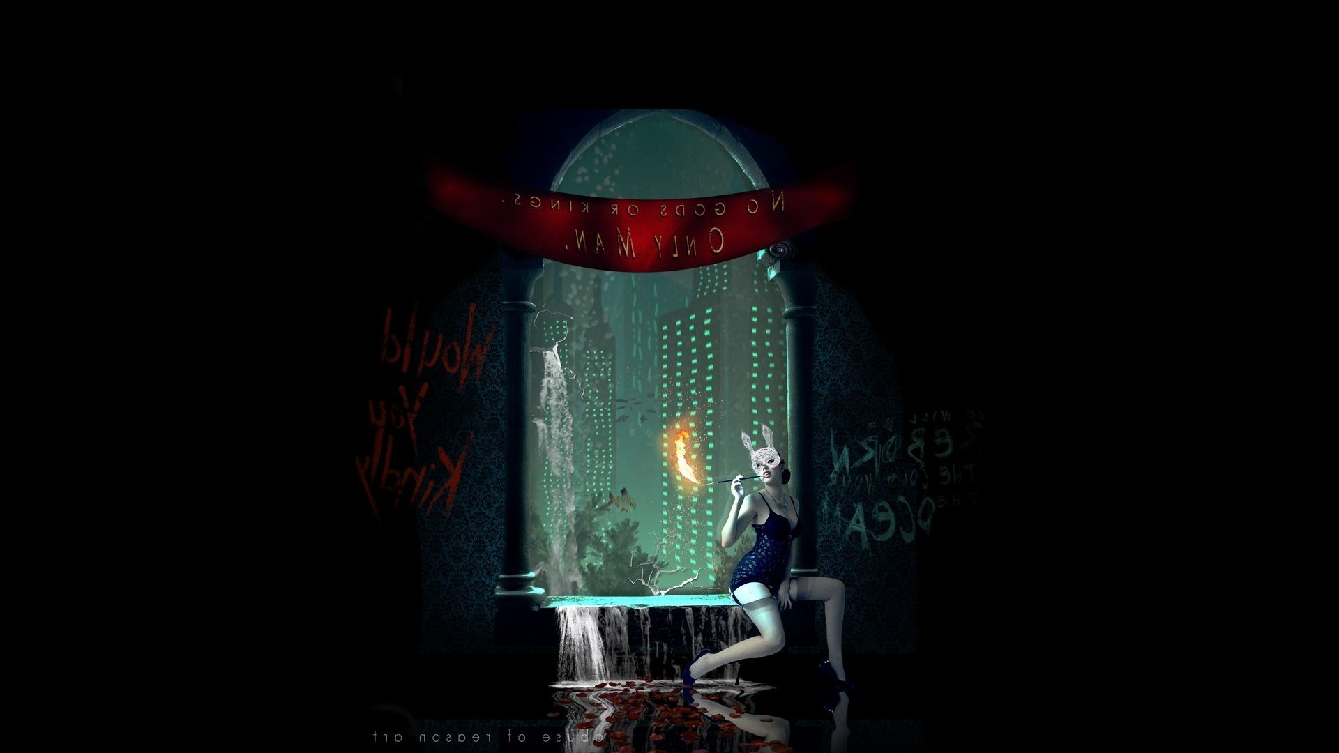 Bioshock Rapture Lighthouse Wallpaper WallDevil
