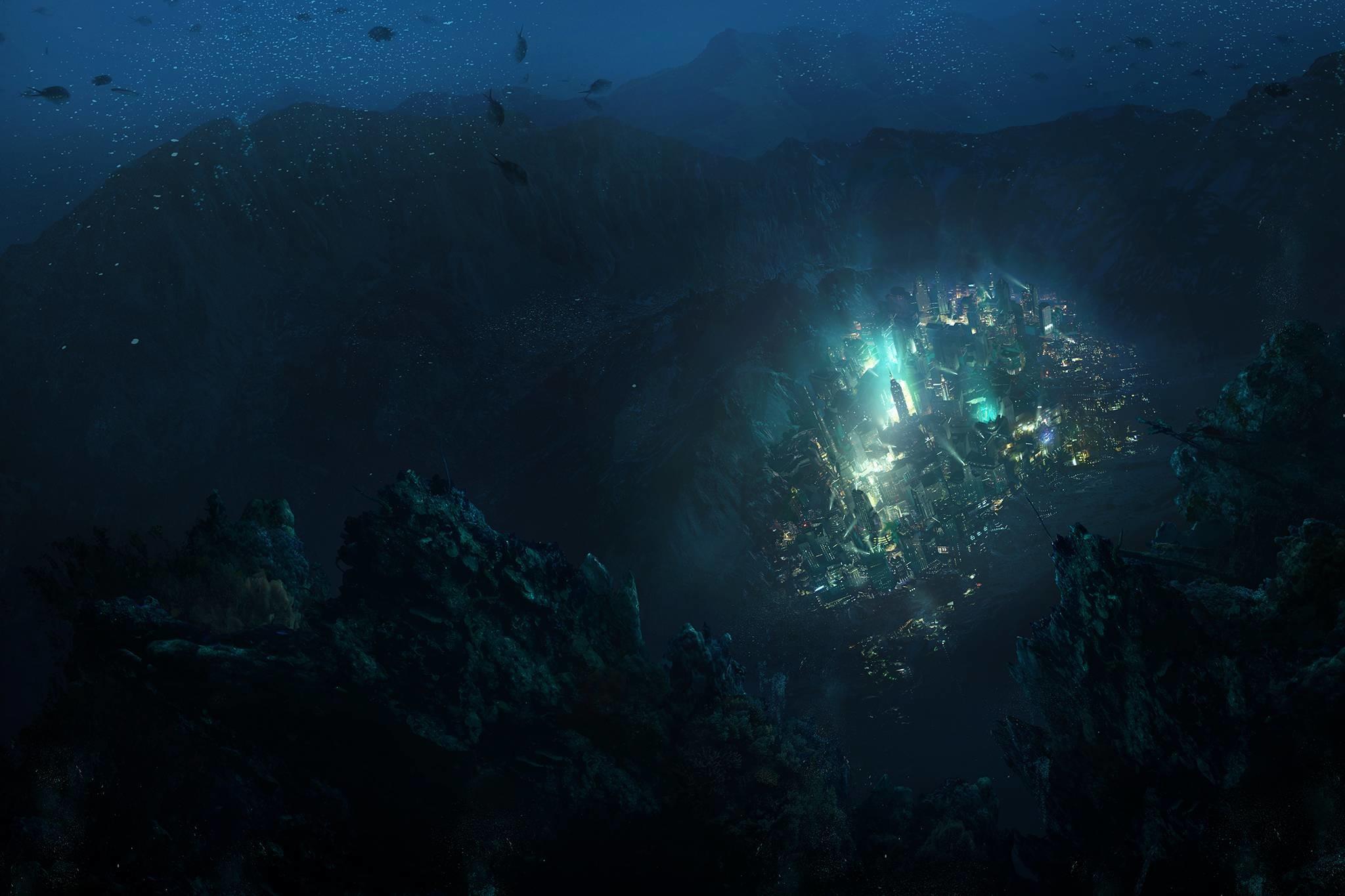 Rapture Water Sea Video Games BioShock …