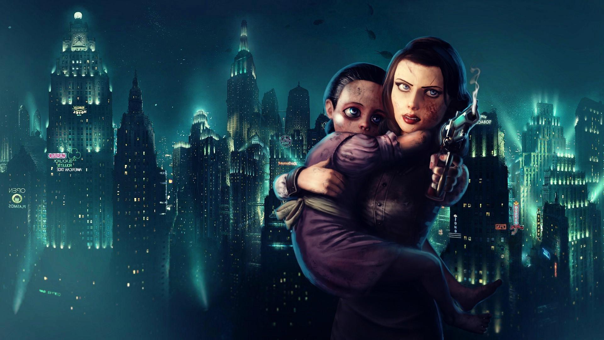 BioShock, BioShock Infinite, Rapture, Little Sister, Video Games, Elizabeth  (BioShock) Wallpapers HD / Desktop and Mobile Backgrounds