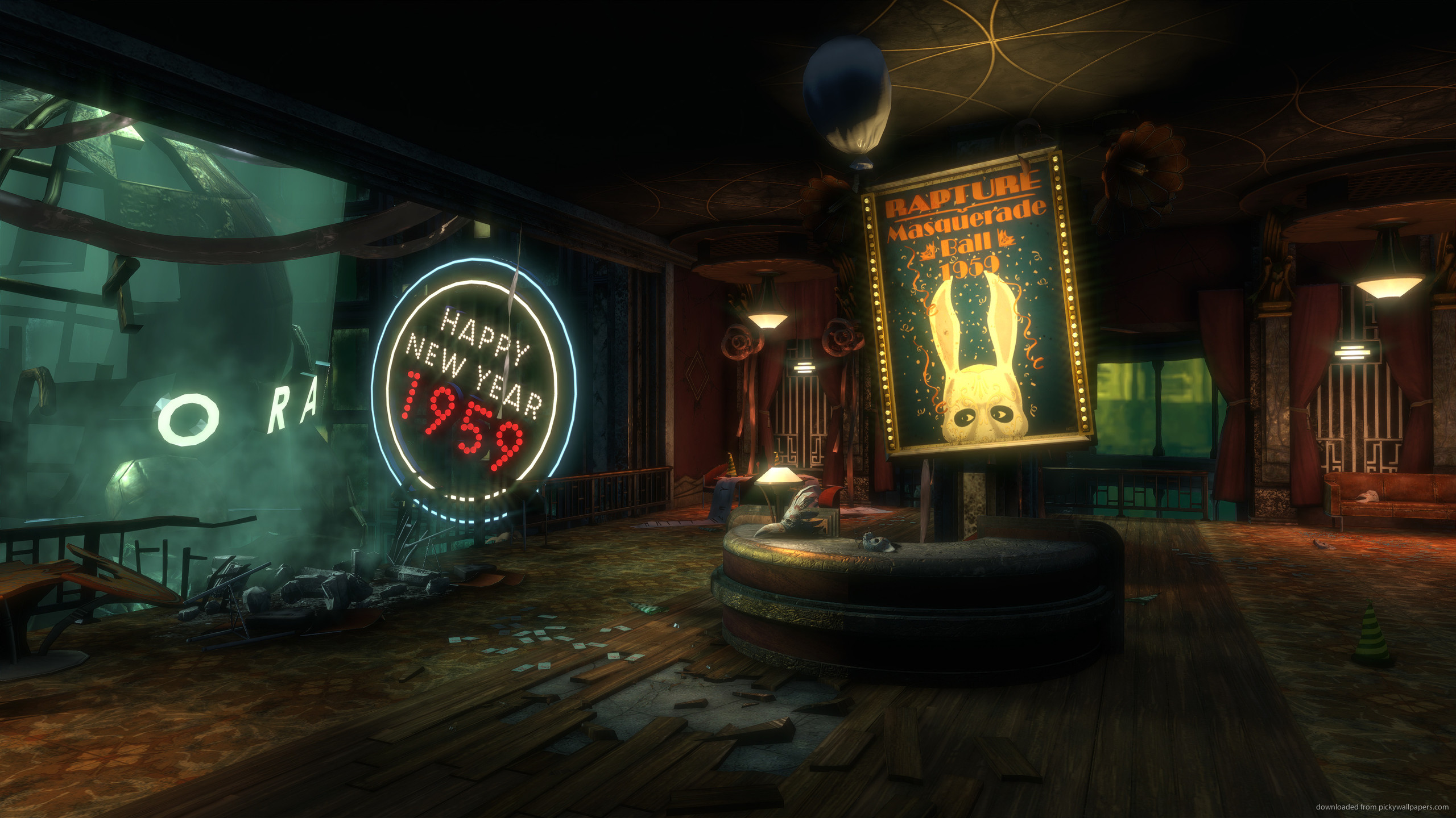 Bioshock Midnight in a Perfect World for 2560×1440