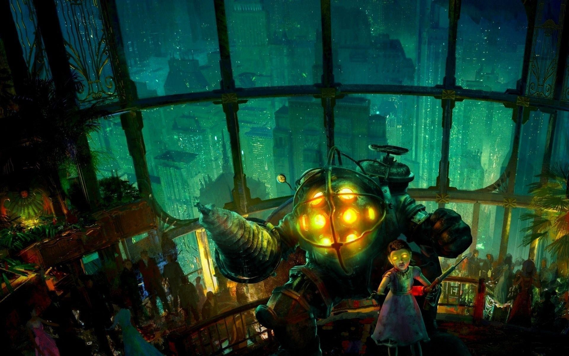 Desktop Wallpaper Bioshock Rapture Balls Masquerade Ball Hd Of ..