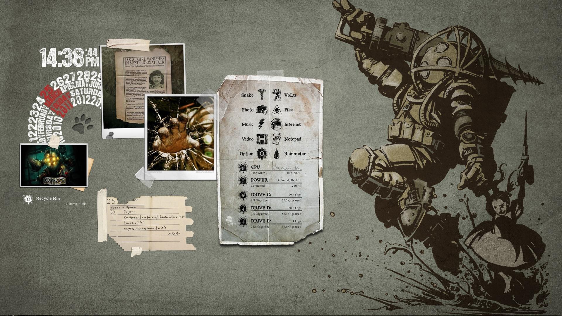 Bioshock HD Wallpapers Backgrounds Wallpaper