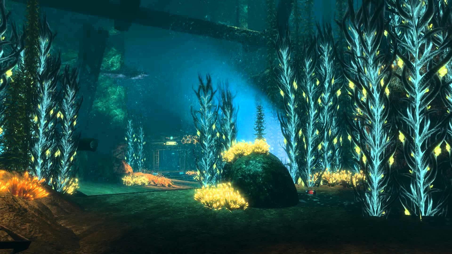Bioshock 2 – DreamScene [Live Wallpaper] – Shark Scene (1080p) – YouTube