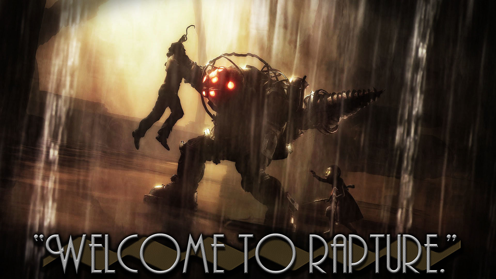 … LeagueWallpapers Welcome to Rapture – Bioshock Wallpaper by  LeagueWallpapers