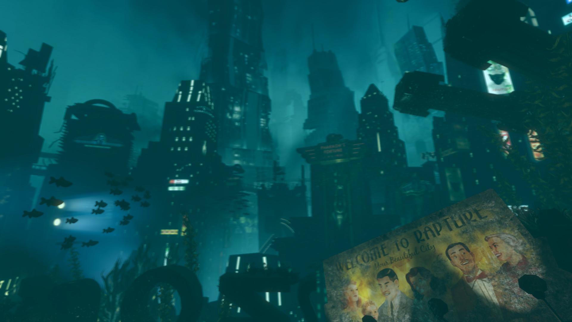 Image – B2 First Rapture Scene.png | BioShock Wiki | FANDOM powered by Wikia