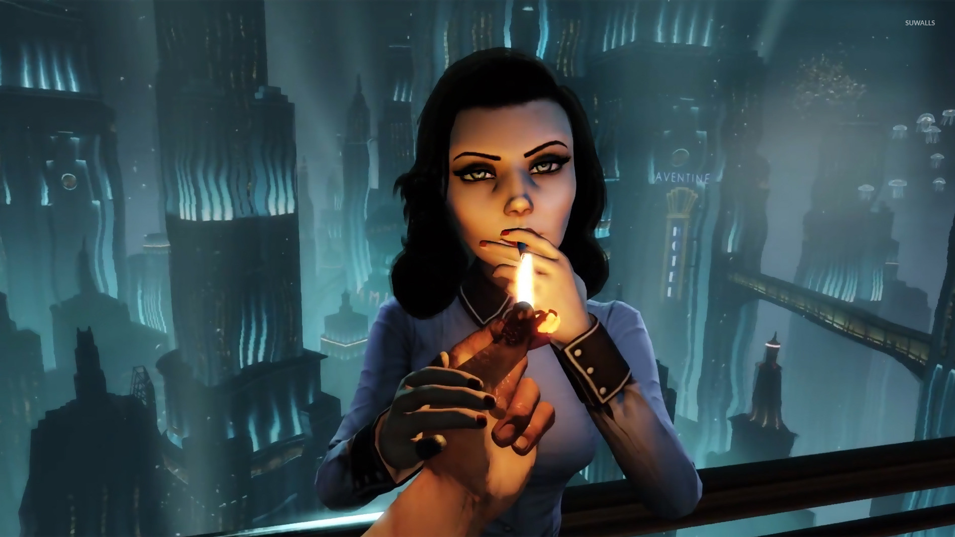 Elizabeth -BioShock Infinite: Burial at Sea wallpaper jpg