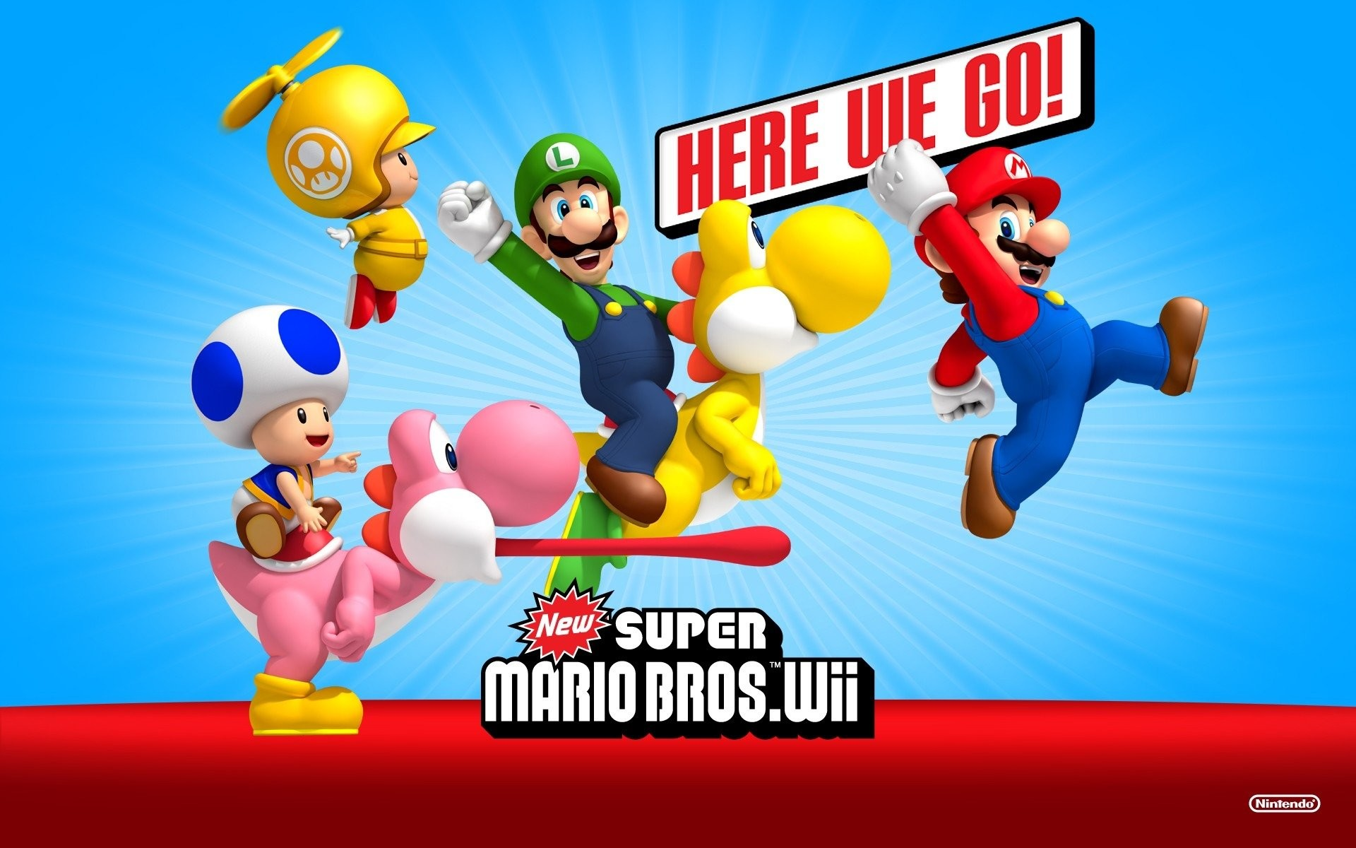 HD Wallpaper | Background ID:328924. Video Game New Super Mario  Bros.