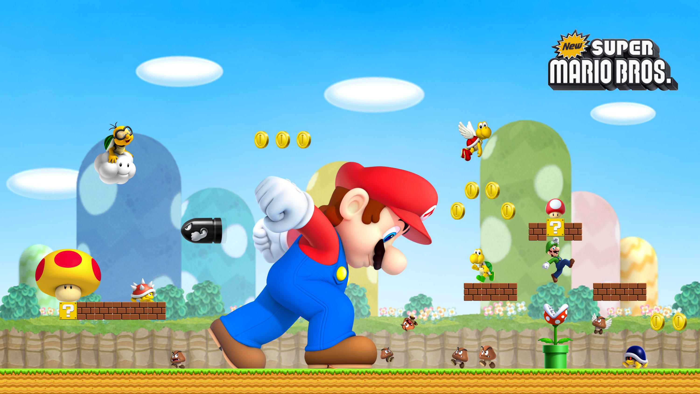 HD Wallpaper by Turret3471 New Super Mario Bros. HD Wallpaper by Turret3471