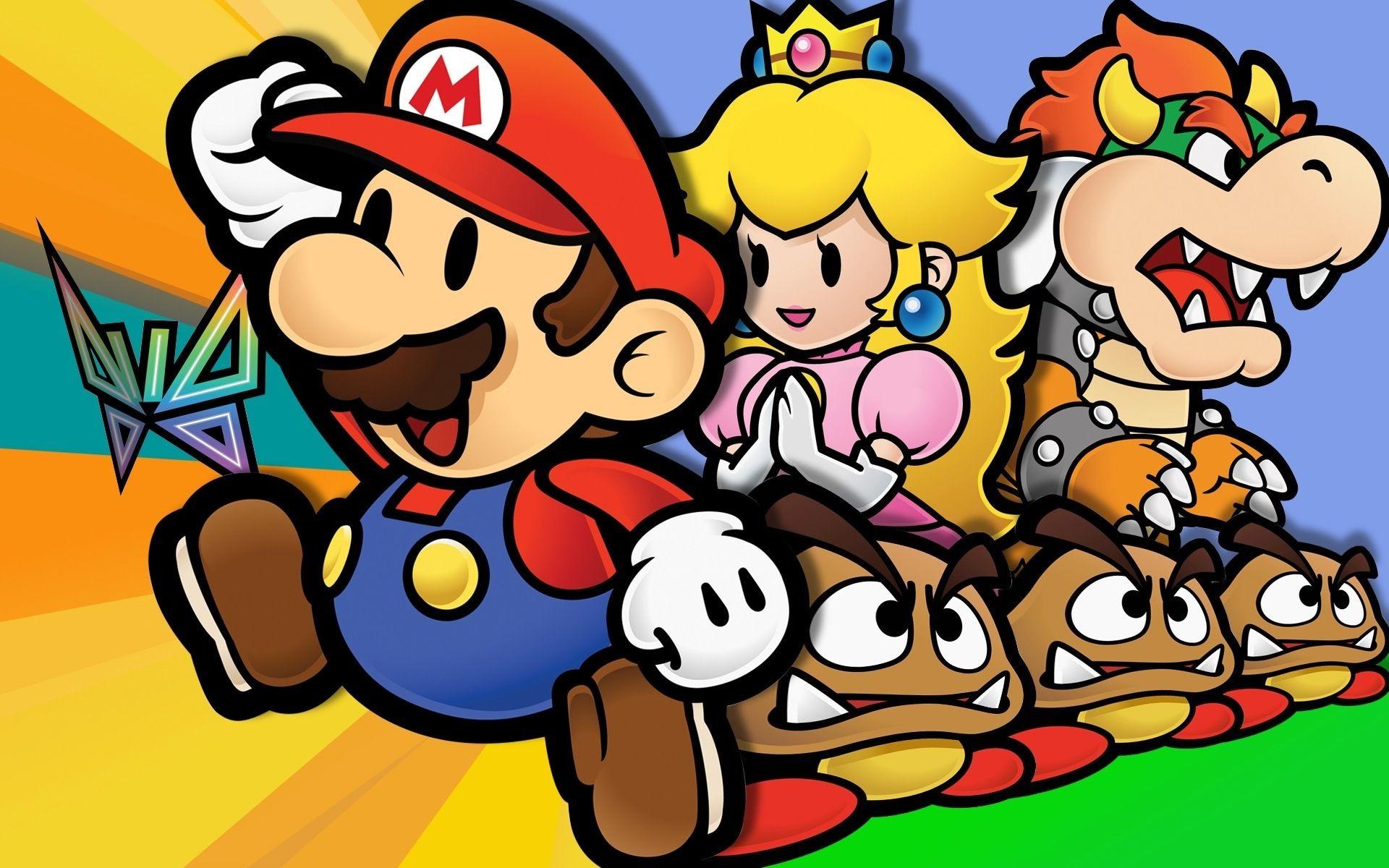 Super Mario Bros Wallpaper