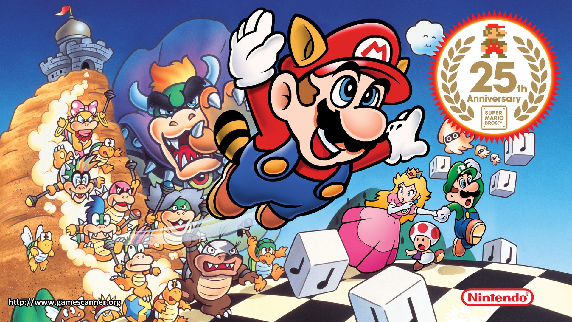 games mario super bros luigi bowser HD Wallpaper – Games (#1110767 .