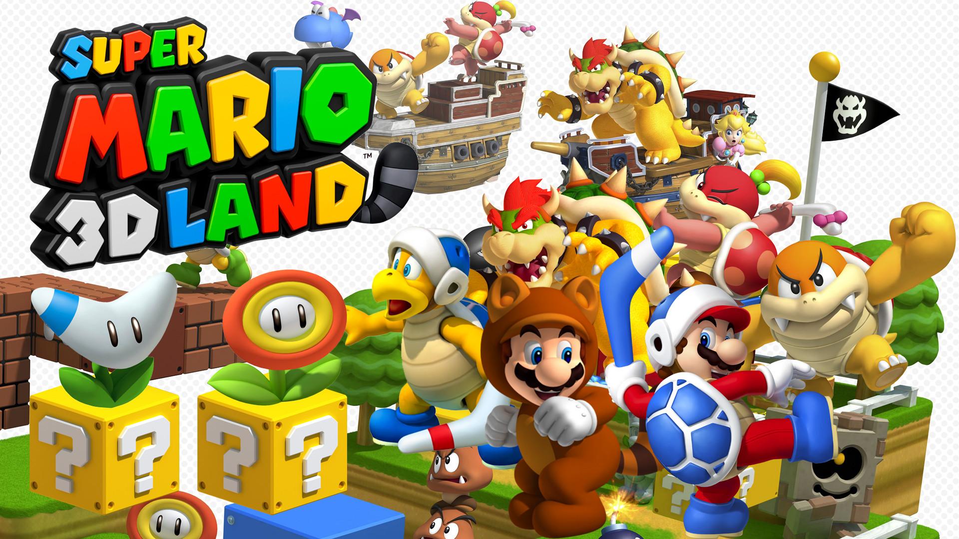 New Super Mario Bros U Wallpaper 1920×1080