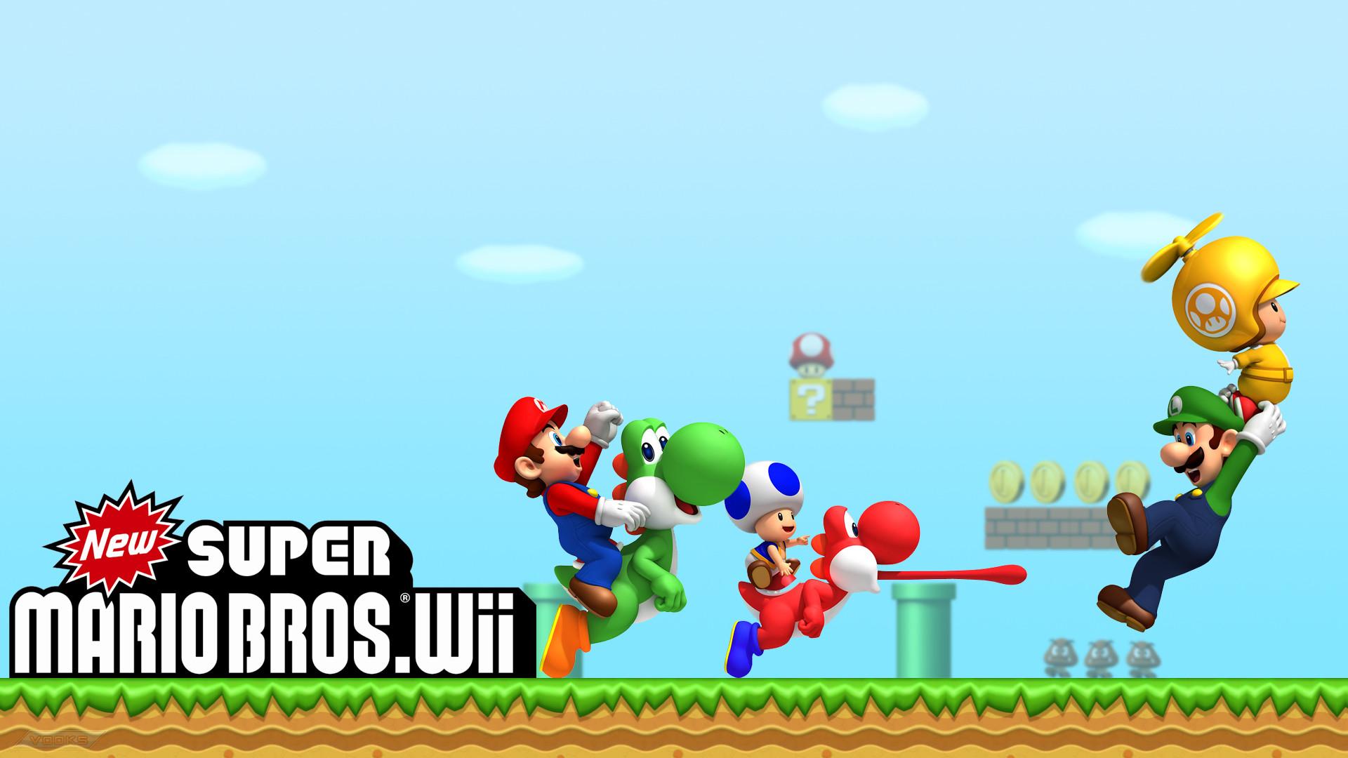 Super Mario Wii U HD Wallpaper