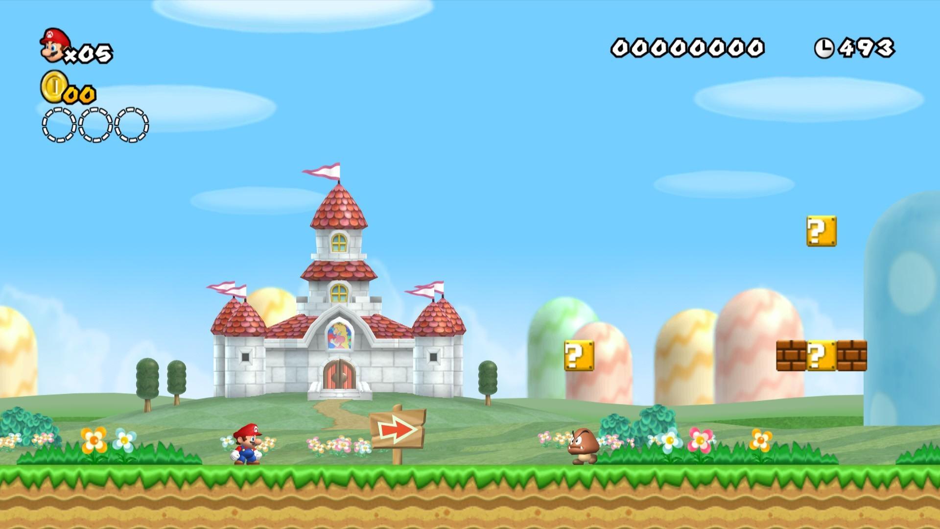 Video Game – New Super Mario Bros. Wii Wallpaper