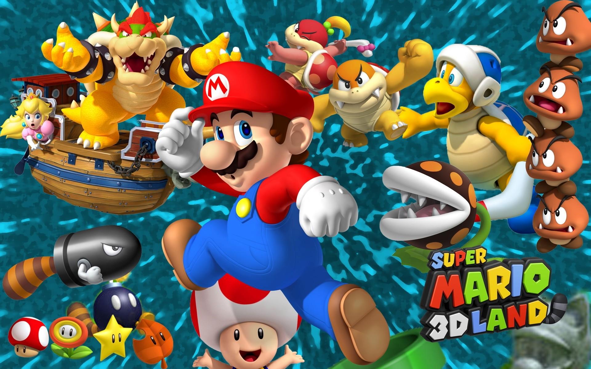 Super Mario 3D Land Wallpaper 8522