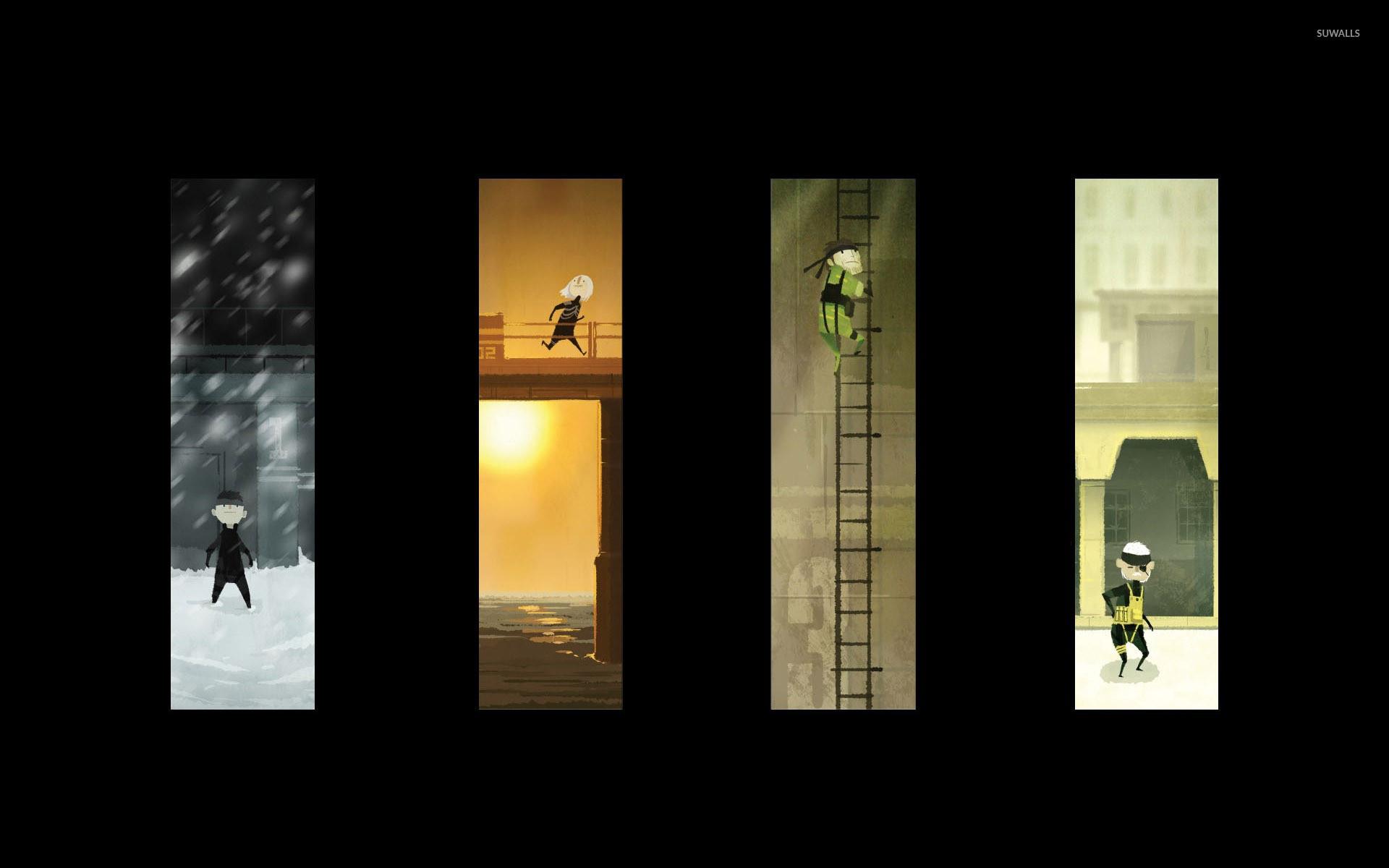 Metal Gear Solid artwork wallpaper jpg