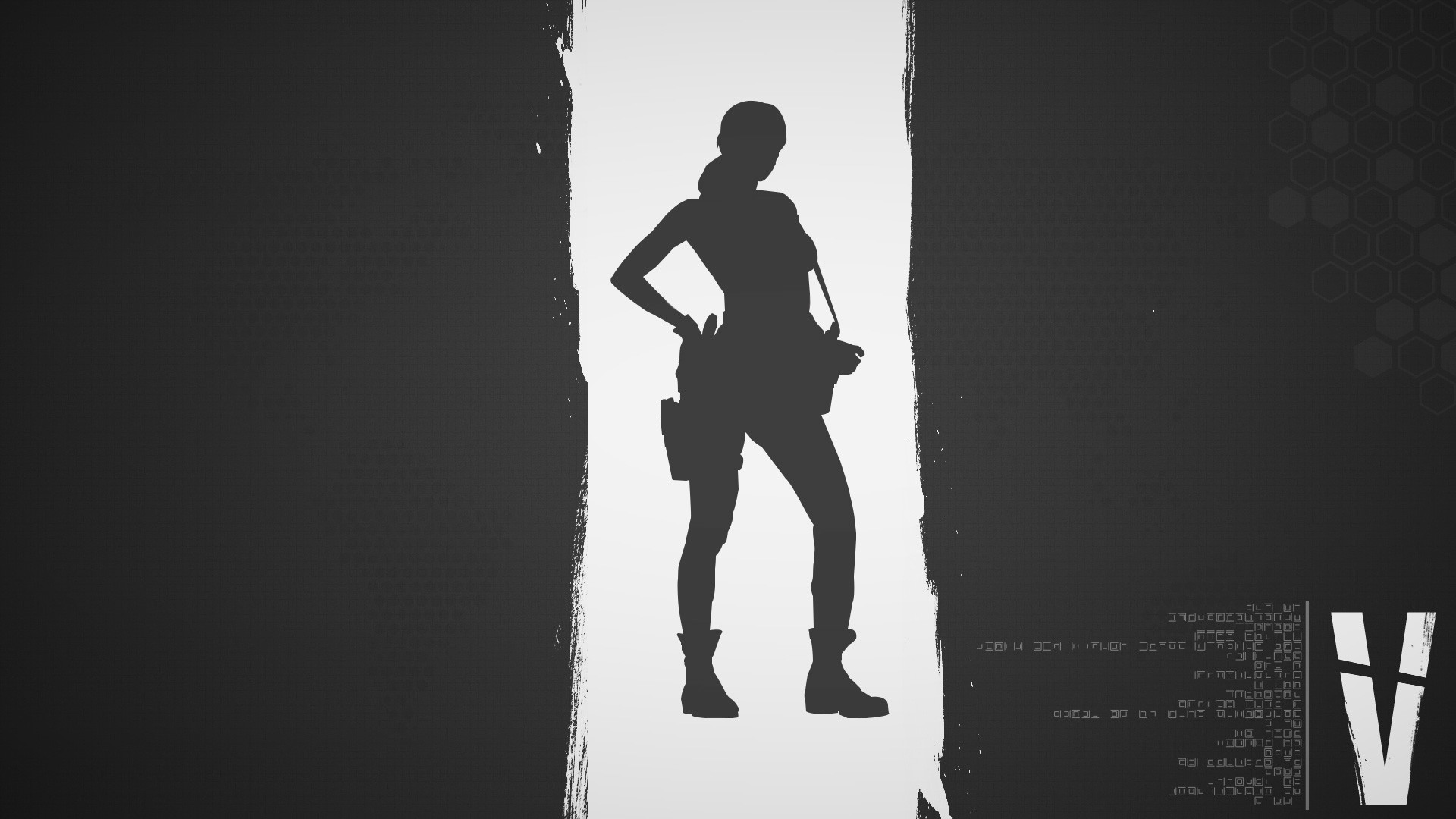 Metal Gear Solid 5 Quiet Wallpaper Gray