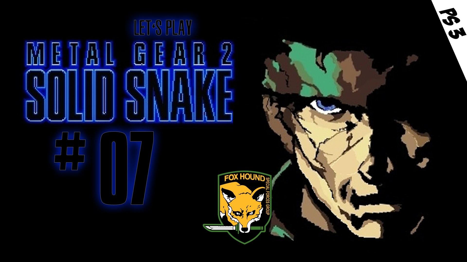 METAL GEAR 2 #07 [HD/Ger] – Kampf gegen Metal Gear, Gray Fox und Big Boss    PS3