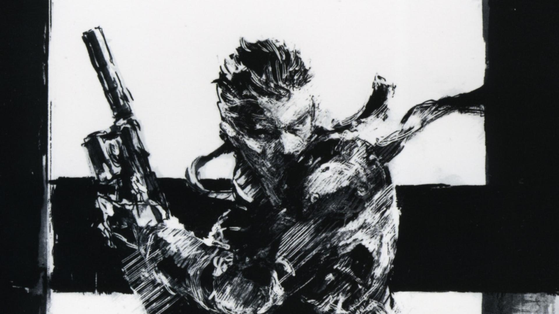 Metal Gear Solid 5 Snake – wallpaper.