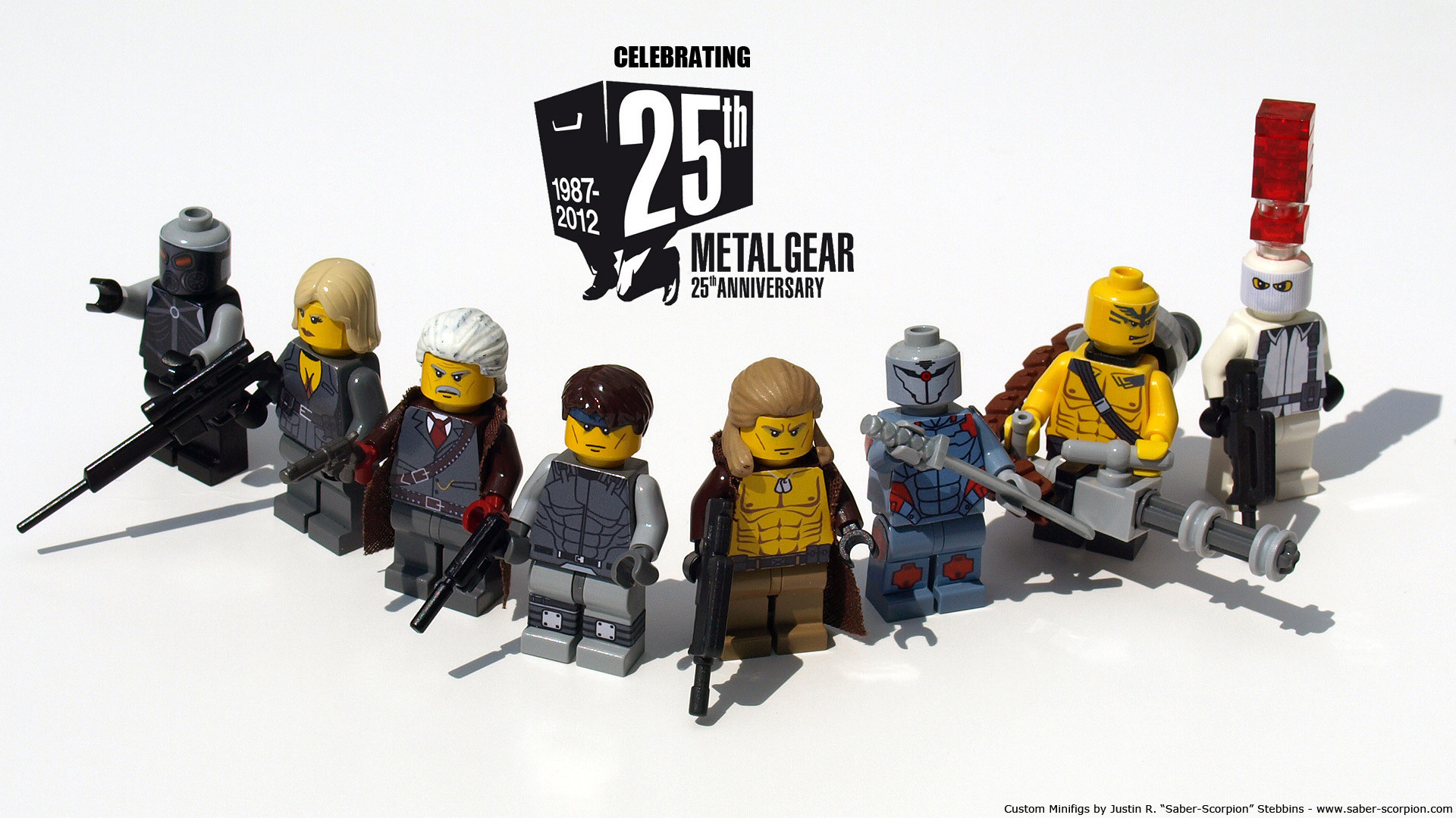 … wallpaper-sized version of the above image in 1920 x 1080. Happy  anniversary, Metal Gear …