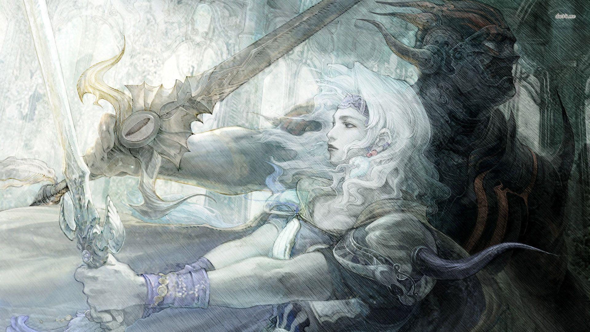 Final Fantasy IV wallpaper – Game wallpapers – #