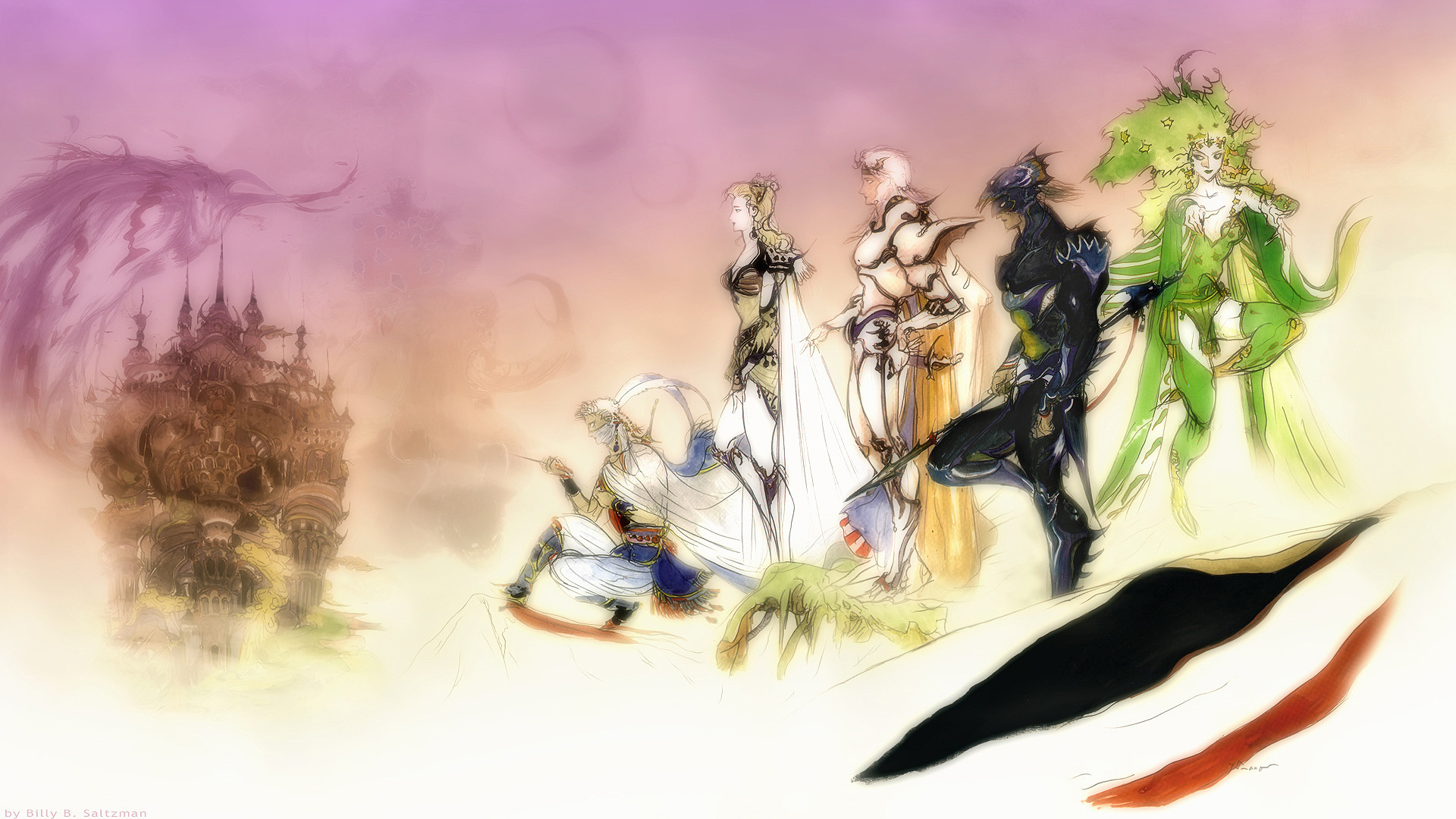 … Final Fantasy IV Wallpaper 2 by Billysan291