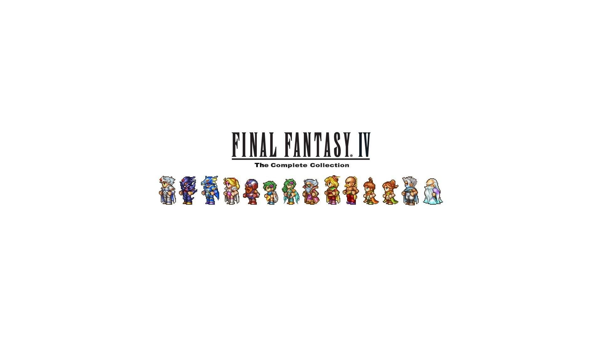 Final Fantasy Iv Sprites